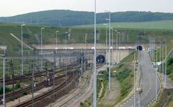 Der Eurotunnel - Quelle: Wikipedia